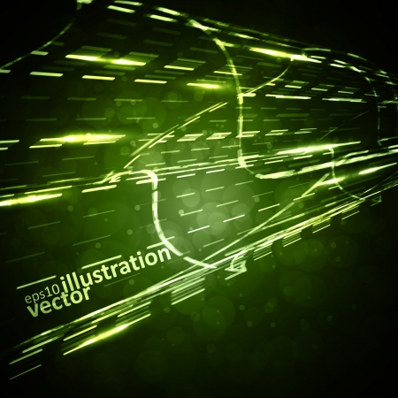 Abstract background, straight motion lines, futuristic illustration. Vector