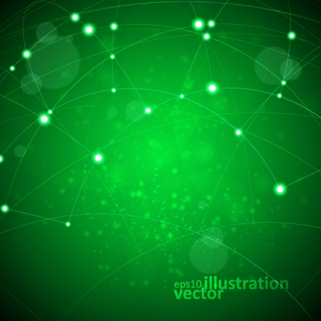 microcircuit:  Abstract vector background,  technology illustration, stylish eps10