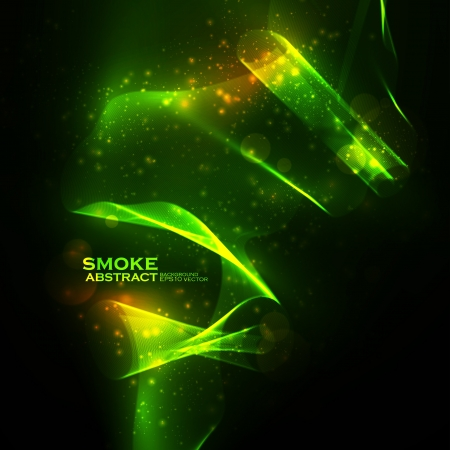 Abstract vector eps10. Creative dynamic, magic smoke Illustrations. Vector