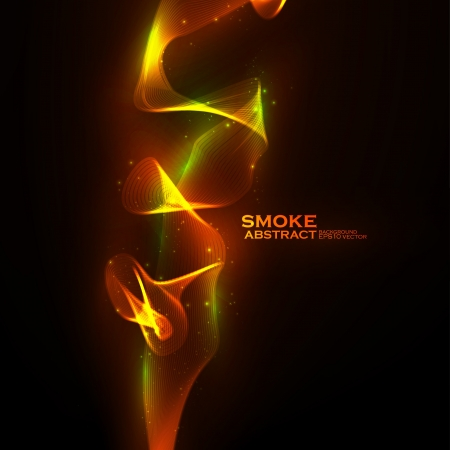 Abstract Creative dynamic, magic smoke Illustrations. Stock Vector - 14289200