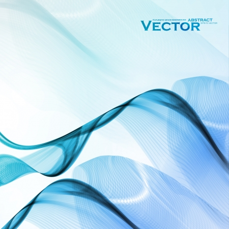 Abstract water background, vector wave illustration eps10 Stock Vector - 15192201