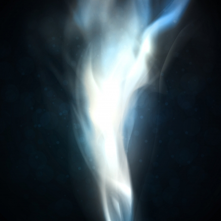 smoke background: Smoke background. Abstract  illustration Stock Photo