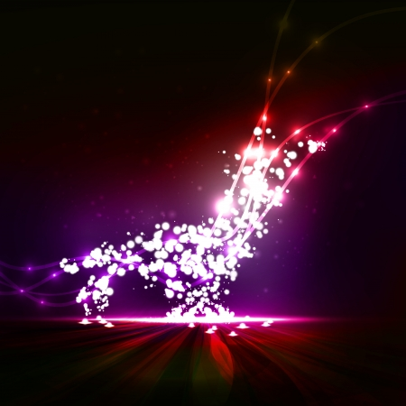 Abstract  Creative dynamic element,  light lines Illustrations  Stock Illustration - 15567950