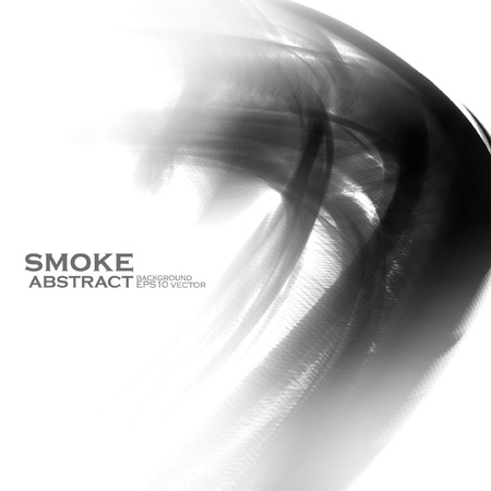 Smoke illustration. Abstract background