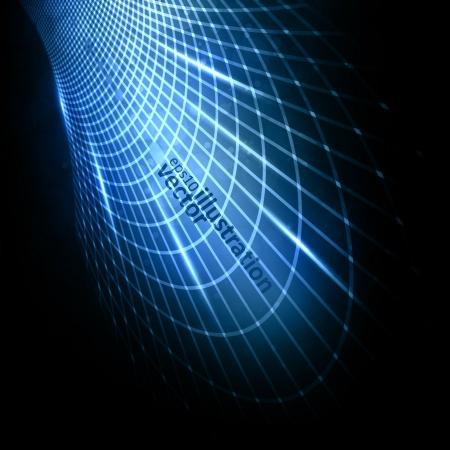 ntilde: Abstract futuristic illustration , &Ntilde,%uFFFDreative dynamic element.