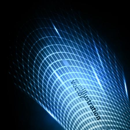 dynamic movement: Ilustraci�n abstracta futurista, elemento din�mico creativo Vectores