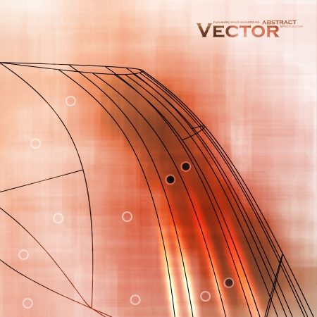 Abstract retro technology Stock Vector - 16331249