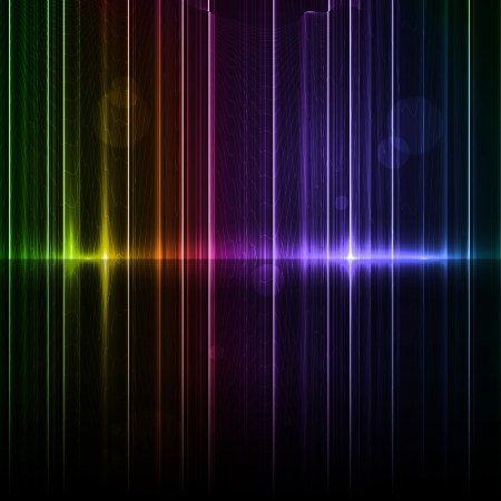 Technology template  Neon abstract, reflection lines backgrounds Stock Photo - 16441476