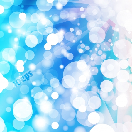 Abstract vector background, colorful lights elements - editable eps10 Stock Vector - 16716532