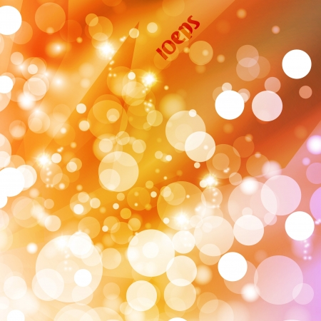 Abstract vector background, colorful lights elements - editable eps10  Stock Vector - 16716516