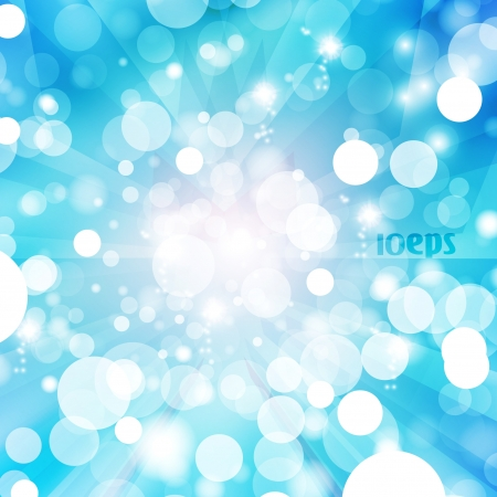 Abstract vector background, colorful lights elements - editable eps10