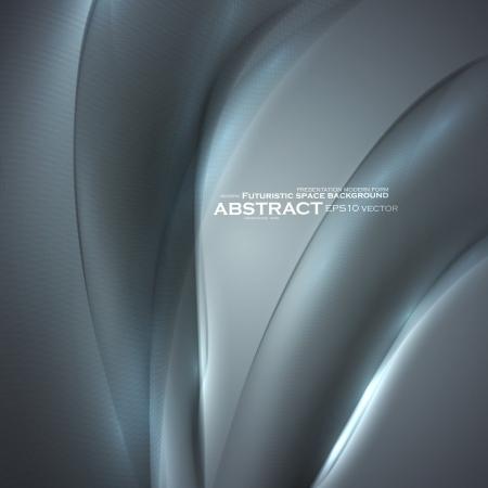 Abstract minimalistic elements, futuristic illustration, vector background - editables eps10  Illustration
