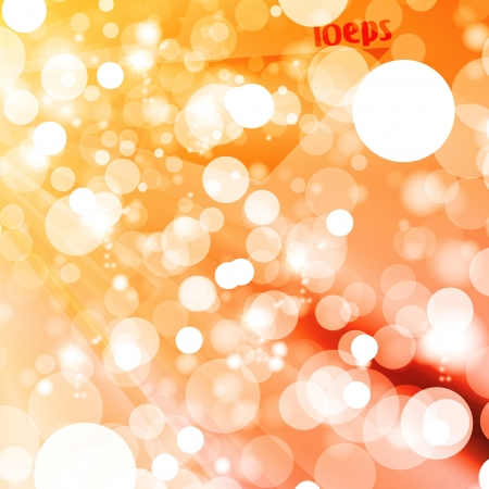 Abstract vector background, colorful lights elements - editable eps10 Stock Vector - 16799242