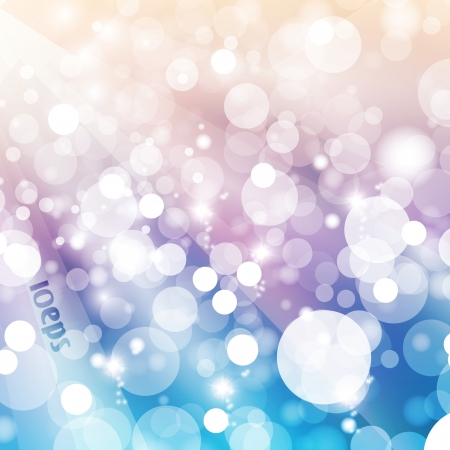 Abstract vector background, colorful lights elements - editable eps10 Stock Vector - 16799249