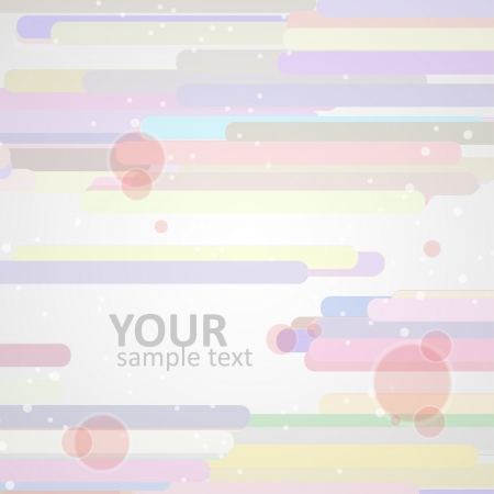 Abstract  background, colorful elements - editable  Stock Vector - 16912827