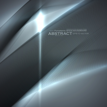 Abstract minimalistic elements, futuristic illustration, vector background - editable