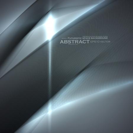 originales: Elementos abstractos minimalistas, ilustraci�n futurista, fondo de vector - editables