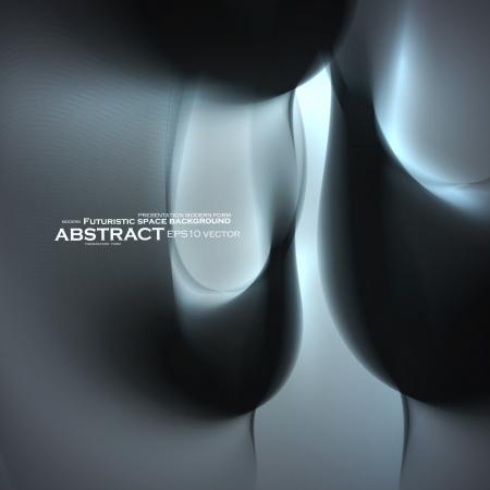 minimalistic: Abstract minimalistic elements, futuristic illustration, vector background - editables eps10  Illustration