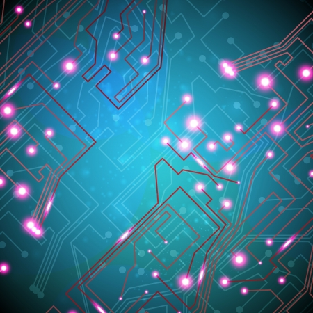 circuit board background, technology illustration Stock Vector - 18842110