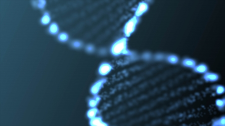 Abstract DNA, futuristic molecule, cell illustration  Stok Fotoğraf
