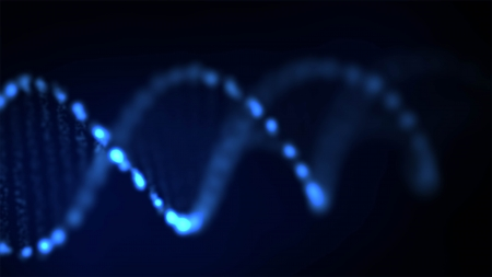 cytosine: Abstract DNA, futuristic molecule, cell illustration  Stock Photo