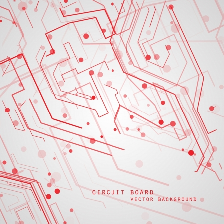 circuitboard: Circuit board vector background, technology illustration Illustration