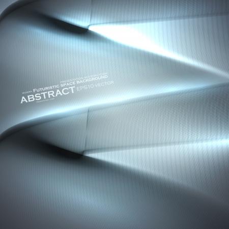 Abstract minimalistic elements, futuristic illustration, vector background Stock Vector - 20725205
