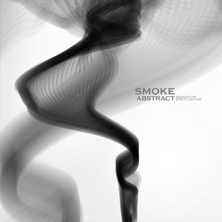 Smoke background  Abstract  vector illustration Stock Vector - 21534882