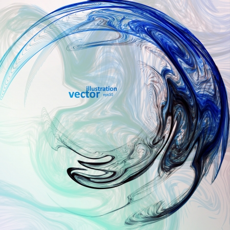 smoke background: Abstract mystic vector background, futuristic wave illustration eps10