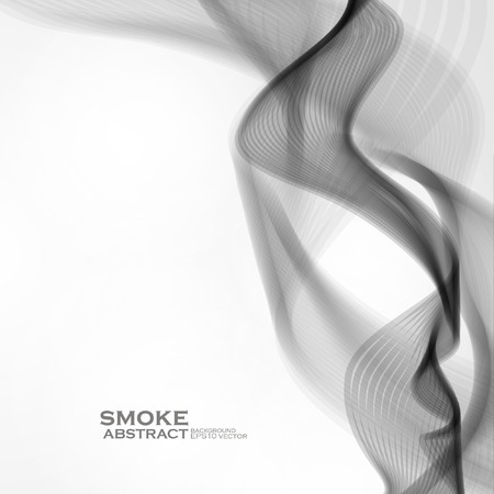 Smoke background. Abstract  vector illustration eps10