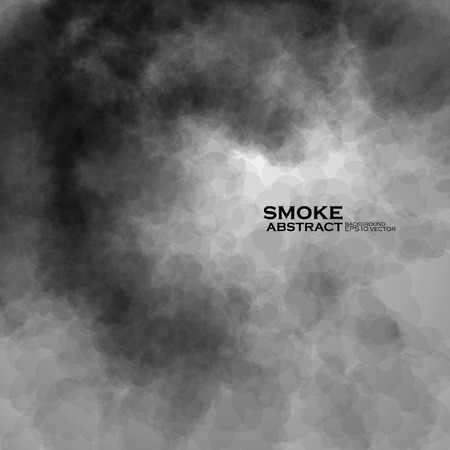 Smoke vector background. Abstract composition illustration eps10