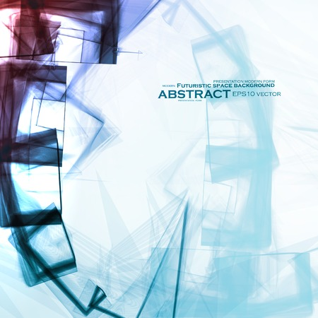 Abstract vector background, digital art  Vector