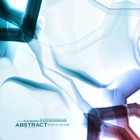 destructive: Abstract vector background, digital art illustration eps10.