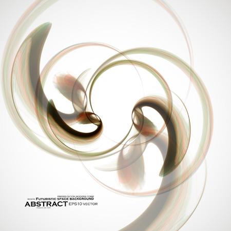 elegantly: Abstract fractal background Illustration