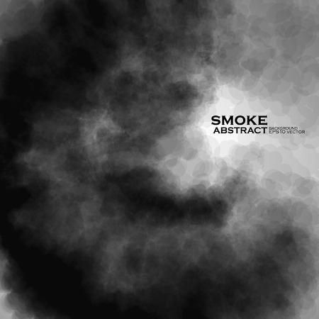 black smoke: Smoke background. Abstract composition illustration