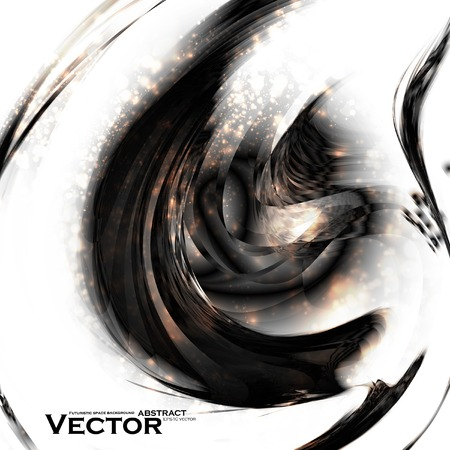 Abstract vector background, futuristic style illustration Vector