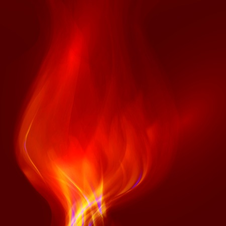 Abstract magical flame illustration