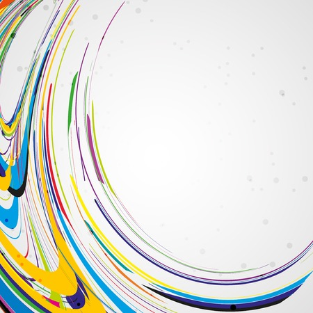 rainbow background: Colorful lines background Stock Photo