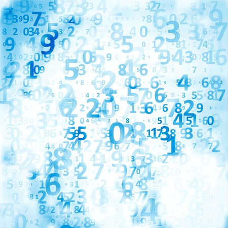 Digital code background photo