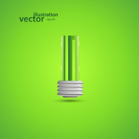 Light Bulb, Vector Illustration eps10, Graphic Concept  For Your Design.