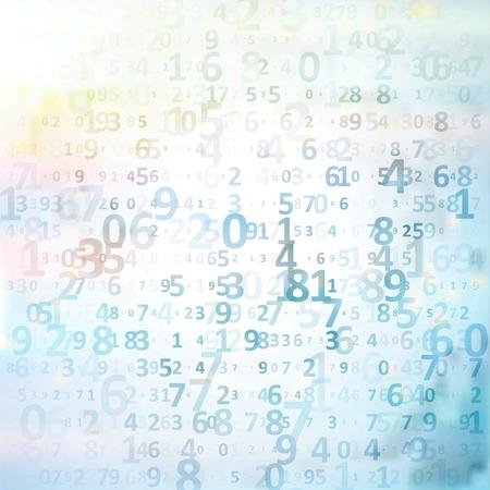Digital code background Standard-Bild
