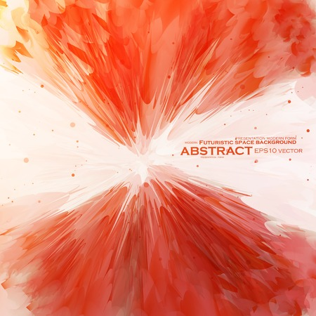 Abstract banner paints Vector