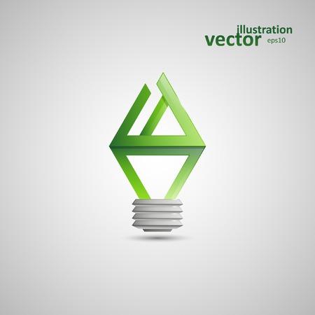 socle: Light Bulb, Vector Illustration , Graphic Concept  For Your Design. Illustration