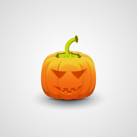 terrible: Halloween Pumpkin Illustration