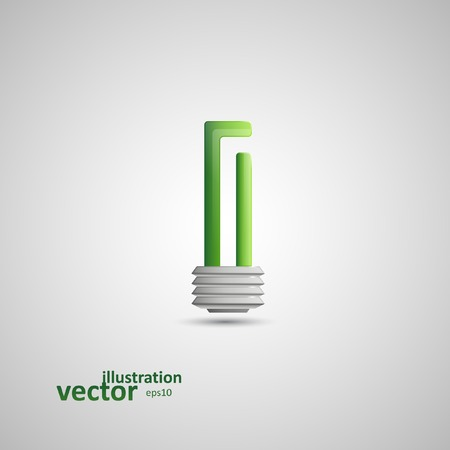 Light Bulb Illustration Graphic Concept