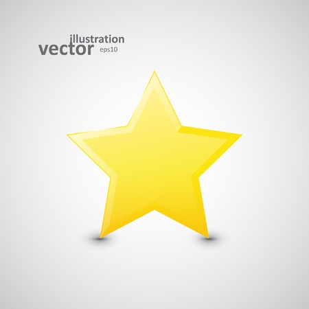 appraisal: Star web icon, vector graphic design, stylish concept   Illustration