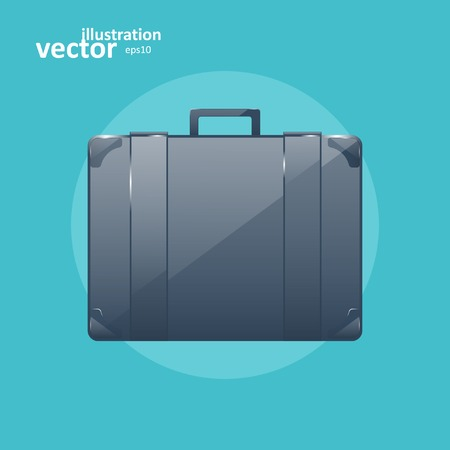 business briefcase: Business briefcase, modern vector icon, graphic design, stylish concept eps10 Illustration
