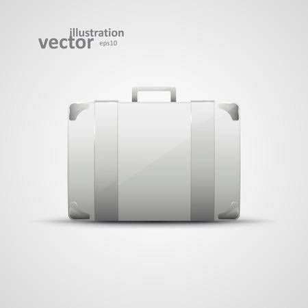 business briefcase: Business briefcase, modern vector icon, graphic design Illustration