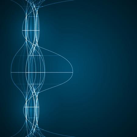 dibujo tecnico: Abstracto de la tecnolog�a, dibujo t�cnico