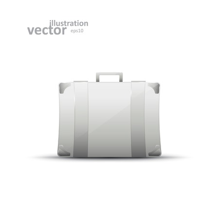 business briefcase: Business briefcase, modern vector icon, graphic design, stylish concept